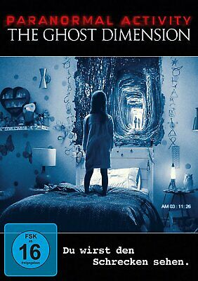 Paranormal Activity - The Ghost Dimension # DVD-NEU