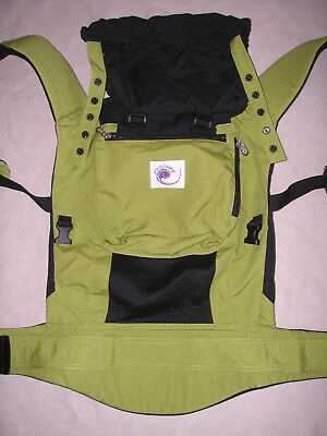 ERGObaby CARRIER performance  ERGO BABY spring green / black   grün / schwarz