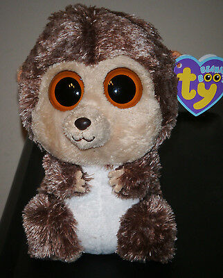 """Ty Beanie Boos ~ SPIKE the 6"""" Hedgehog ~ MINT with MINT TAGS ~ RETIRED"""