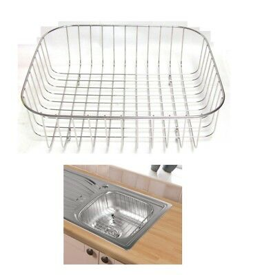 SupaPlumb Washing Up Metal Sink Basket Replaces Washing Up Bowls 375 x 325mm