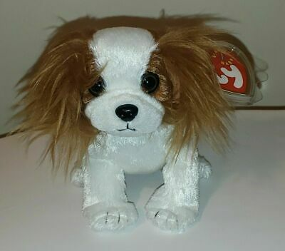 Ty Beanie Baby ~ REGAL the King Charles Spaniel Dog (6 Inch) MWMT