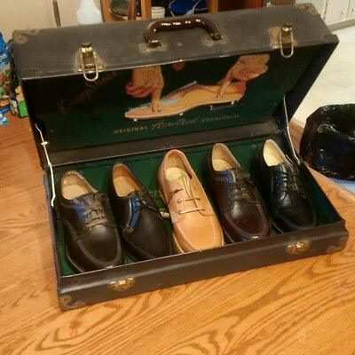 Knapp Shoes Salesman Kit WITH SHOES shoe advertising