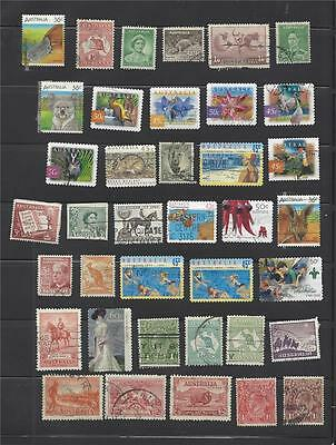AUSTRALIA stamp lot collection - 3 scans