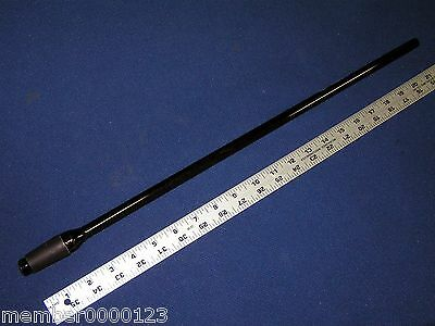 "Pyrex 22"" Amber Glass Rod with 24/40 Joint, Dimensions: 13 mm o.d., 10 mm i.d."