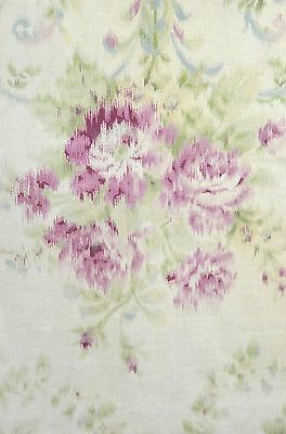 Stunning Vintage Lightweight Cotton Fabric – Doll Scale Rr460