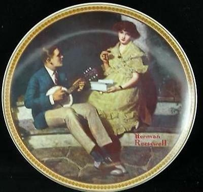 Norman Rockwell Rediscovered Women Pondering on Porch Plate