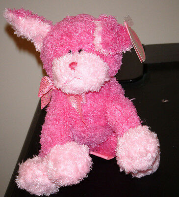 Ty Pinkys Beanie Baby ~ FANCIFUL the Pink Dog ~ MINT with MINT TAGS ~ RETIRED