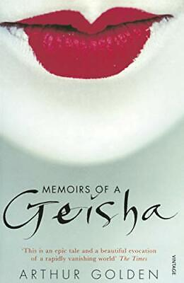 Memoirs Of A Geisha, Golden, Arthur Paperback Book The Cheap Fast Free Post