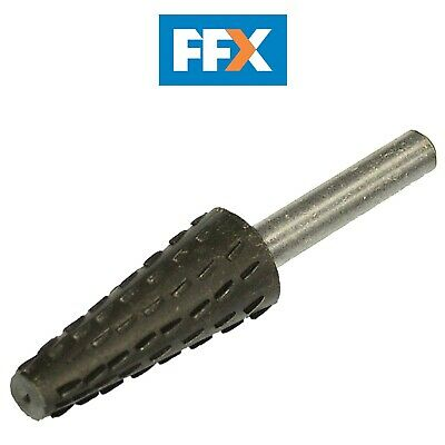Faithfull FAIRRCON Rotary Rasp Conical 4-12 x 30mm