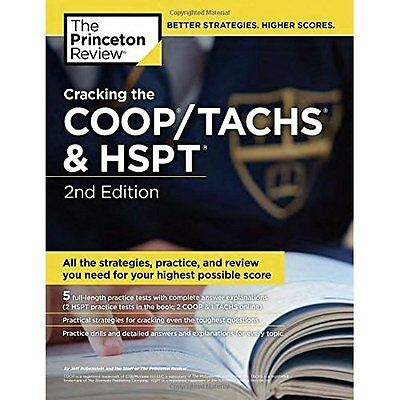 Cracking the Coop/Tachs and Hspt (Private Test Preparat - Paperback NEW Princeto