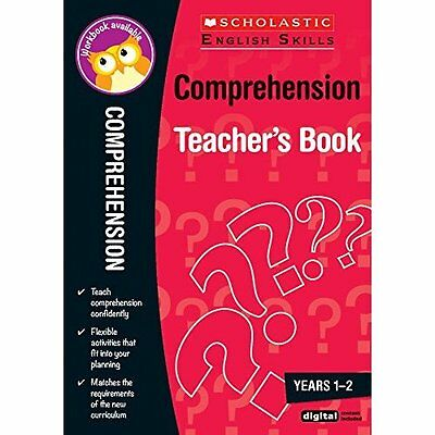 Comprehension Teacher's Book (Years 1-2) (Scholastic En - Paperback NEW Donna Th