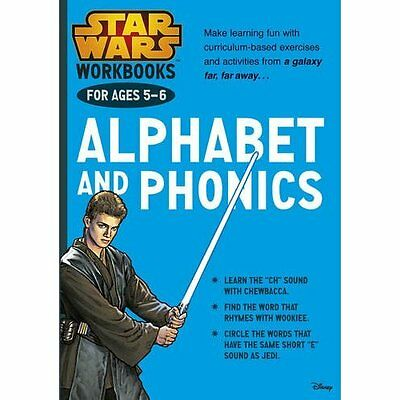 Star Wars Workbooks: Alphabet & Phonics (Ages 5-6) - Paperback NEW (Author) 2015