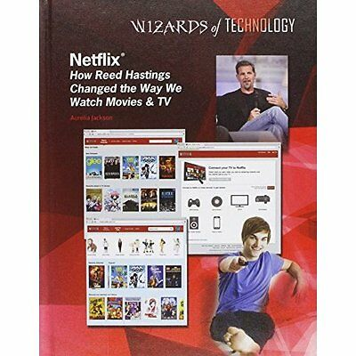 Netflix: How Reed Hastings Changed the Way We Watch Mov - Library Binding NEW Au