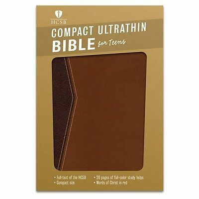 Compact Ultrathin Bible for Teens - HCSB - Imitation Leather NEW Broadman Holman