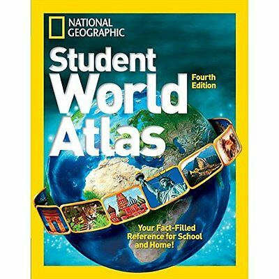 NG Student World Atlas (National Geographic Kids) - Hardcover NEW National Geogr