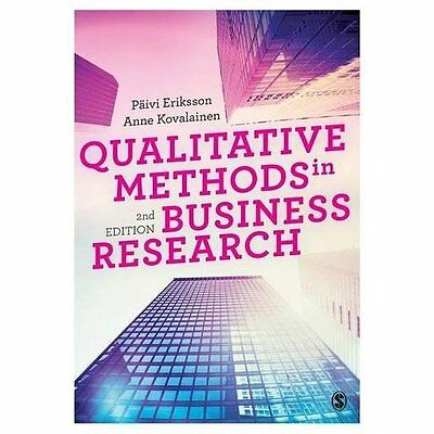 Qualitative Methods in Business Research (Introducing Q - Paperback NEW Paivi Er