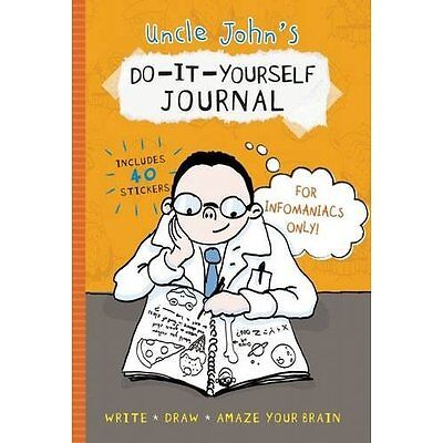Uncle John's Do-It-Yourself Journal for Infomaniacs Onl - Hardcover NEW Bathroom
