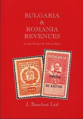 BULGARIA & ROMANIA REVENUES 2003 Barefoot Catalogue Illustrated(137 Pages)