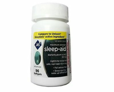 Member's Mark Maximum Strength Non Habit-Forming Sleep Aid 96 Softgels