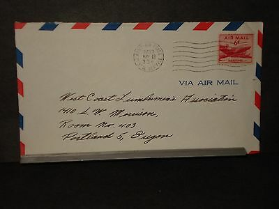 APO 334 GUAM MARIANAS Army Air Force Cover 1953 3rd Avn Fld Depot Soldier's Mail