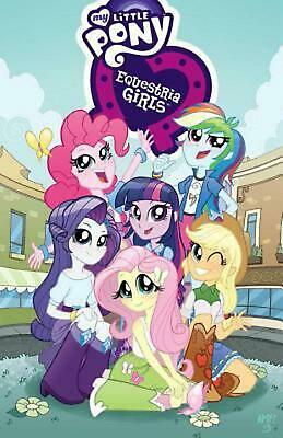 My Little Pony Equestria Girls by Ted Anderson (English) Paperback Book Free Shi