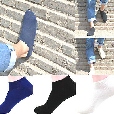 Mens Soft Cotton Ship Boat Short Sock Ankle Sports Invisible Socks Warm Winter