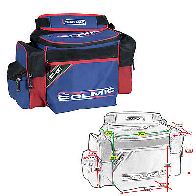 BO206 Borsa Colmic New York Competition Porta Accessori Pesca Surfcasting   PP