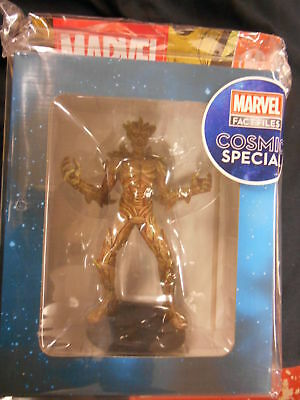 "Marvel Fact Files Cosmic Special #5 ""groot"" Figurine (Eaglemoss) New"