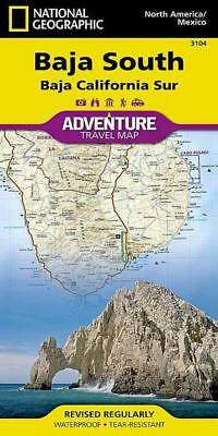 National Geographic Adventure Map Baj - National Geographic Maps (Paperback) New
