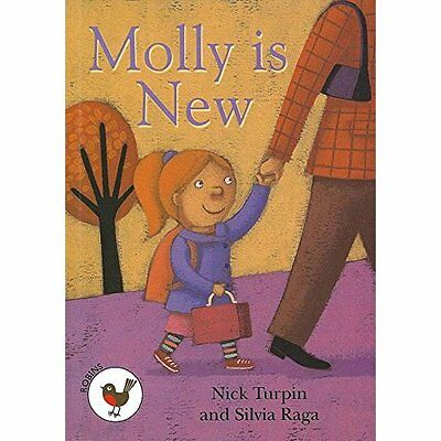 Molly is New: Robins Level 1 (ReadZone Reading Path) - Paperback NEW Nick Turpin