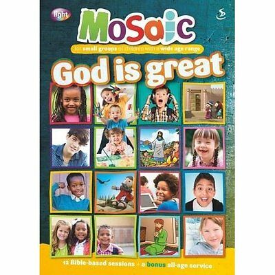 God is great (Mosaic) - Paperback NEW Compiled by Mag 2015-08-22