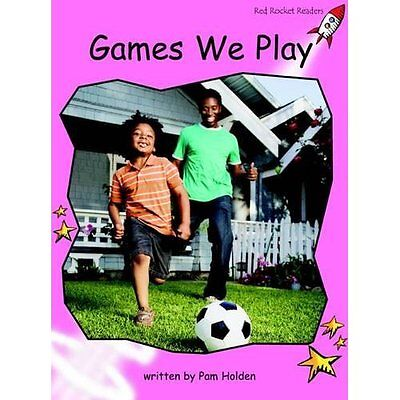 Games We Play: Pre-reading (Red Rocket Readers: Non-fic - Paperback NEW Pam Hold