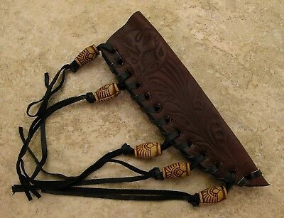 Leather Sheath for Fixed Blade Patch Knife
