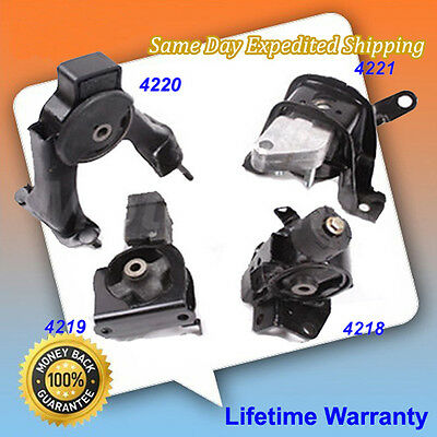 Engine Motor Mount Set 4PC kit for Auto Trans 2003-2008 Toyota Corolla 1.8L M124