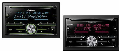 pioneer fh x730bt autoradio doppio din 2din con bluetooth cd mp3 usb aux eur 195 40. Black Bedroom Furniture Sets. Home Design Ideas