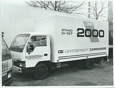 Mitsubishi Carrier Original Photograph Combi 2000