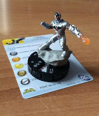 HeroClix Justice League The New 52 #006  CYBORG  DC
