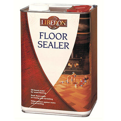 Liberon Wood Floor Sealer 5 Litre Oil Based For All Wood and Parquet Floors