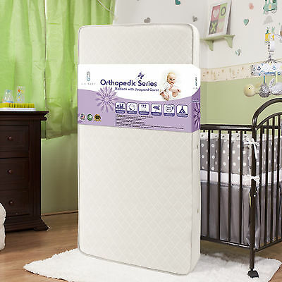 L.A. Baby Madison Crib Mattress with Jacquard Fabric Cover