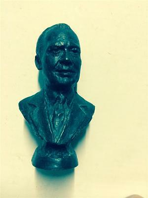 Gerald Ford Bronze Bust President Statue Franklin Mint Presidential Bust 1977