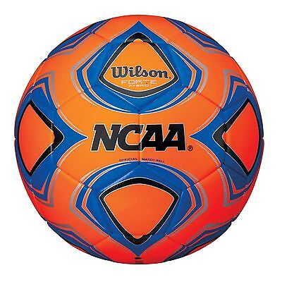 Wilson Official NCAA Forte Fybrid Size 5 Championship Premium Match Soccer Ball