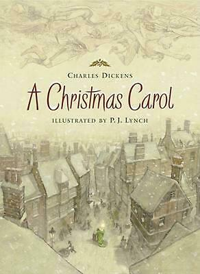 A Christmas Carol by Charles Dickens (English) Hardcover Book Free Shipping!