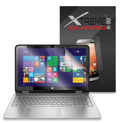 """3-Pack HD XtremeGuard HI-DEF Screen Protector For HP Envy x360 15T Touch 15.6"""""""