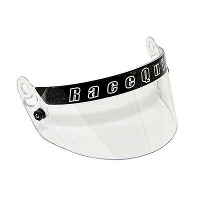 RaceQuip 204001 SA2015 Clear Visor Replacement Face Shield For PRO15 Helmet