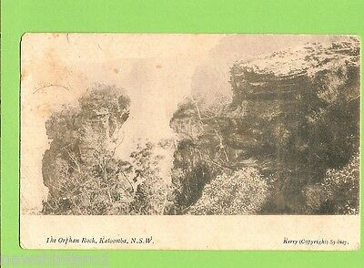 #e.  Postcard - The Orphan Rock, Katoomba, Nsw