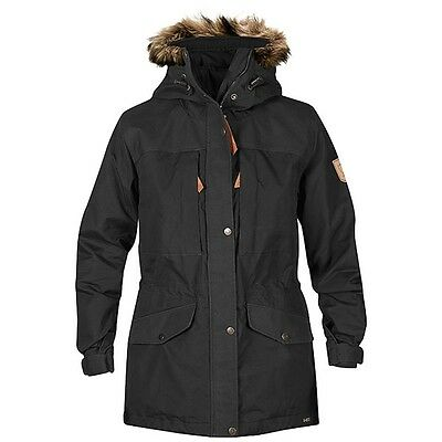 Fjällräven Sarek Winter Jacket Trekking Winterjacke Damen dark grey