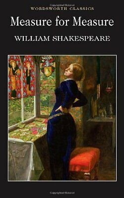 Measure for Measure (Wordsworth Classics), Shakespeare, William Paperback Book