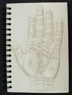 Palmistry Hand Palm Reading Design Notebook / Journal - New / Old Stock To Clear