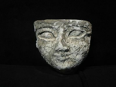 Zurqieh - Ancient Egyptian Stone Face. 600 - 300 B.c