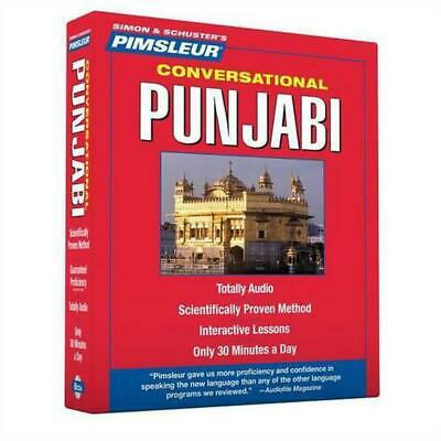 Pimsleur Conversational Punjabi (English) Compact Disc Book Free Shipping!